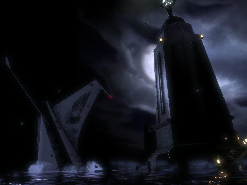 BioShock - Čerstvo po havárii lietadla