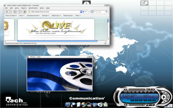 Elive 2 - screenshot